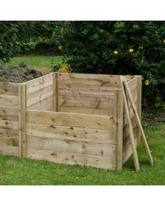 Forest Garden Slot Down Compost Bin Extension Kit - Unassembled