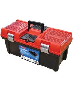 "Faithfull Plastic Tool Box with Tote Tray - 20"""