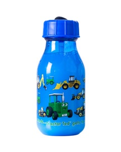 Tractor Ted Water Bottle - Blue