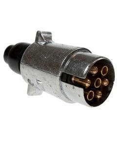 MVF Male Aluminium 7 Pin Plug