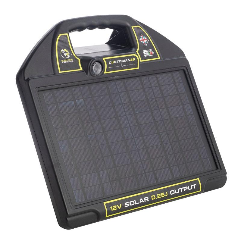 An image of Mole Electric Fencing Custodian 25 Solar Energiser