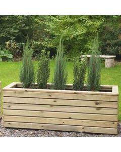 Forest Garden Linear Planter Long - Unassembled