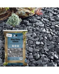 Kelkay Blue Slate Chips - 20mm - 40mm