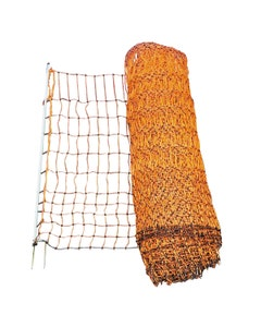 MVF Electrified Orange Poultry Netting - 50m
