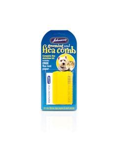 Johnson's Flea and Grooming Comb + Flea Detection Kit
