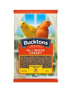 Bucktons No.1 Mixed Canary - 20kg