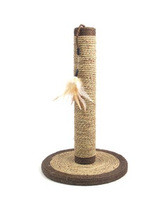 Rosewood Seagrass Cat Stratching Post