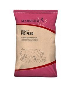 Marriages Pot Bellied Pig Cubes - 20kg