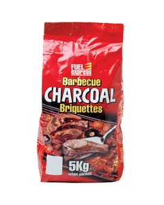 Fuel Express Barbecue Charcoal Briquettes - 5kg