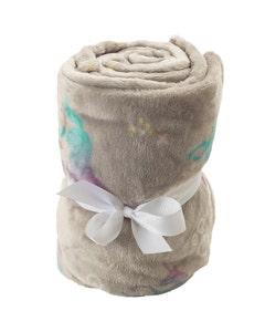Mole Valley Children's Supersoft Blanket - Unicorn