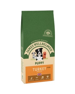 James Wellbeloved Puppy Turkey & Rice - 15kg
