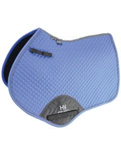Hy Sport Active Close Contact Saddle Pad Regal Blue - Cob/Full