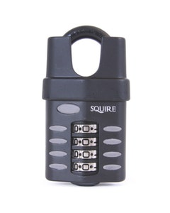 Squire CP50CS Closed Shackle 50mm Re-codeable Combination Padlock