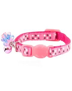 Ancol Kitten Collar - Pink Stars
