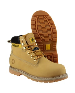 Amblers FS7 Safety Boots - Honey