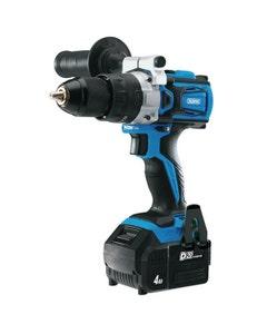 Draper D20 20V Brushless Combi Drill Set