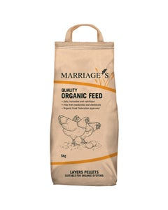 Marriages Organic Layers Pellets - 5kg