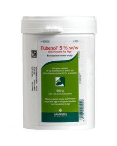 Flubenol 5% Pig Oral Powder 600gm