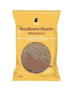 MVF Sunflower Hearts Wild Bird Food - 2kg
