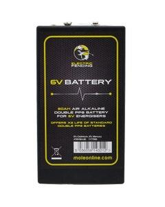 Mole Electric Fencing Air Alkaline Battery - 6V/80Ah