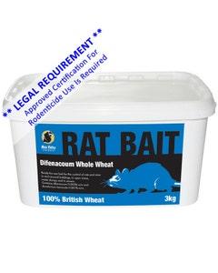 MVF Difenacoum Whole Wheat Rat Bait - 3kg