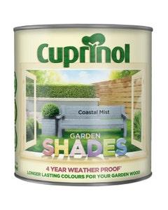 Cuprinol Garden Shades Wood Paint Coastal Mist - 2.5L