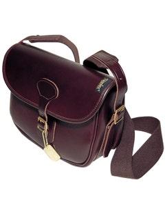 Napier Best Leather Cartridge Bag - Dark Brown