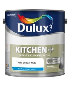 Dulux Kitchen+ Matt Pure Brilliant White - 2.5L