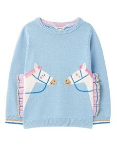 Joules Children's Geegee Novelty Knitted Jumper