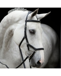 Horseware Rambo Black Micklem Competition Bridle - Small Horse/Cob