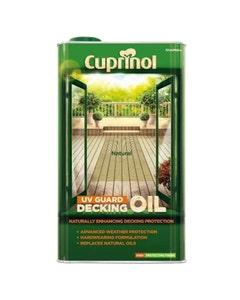Cuprinol Decking Oil & Protector Natural Oak - 5L