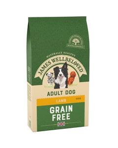 James Wellbeloved Adult Dog Grain Free Lamb & Vegetables - 10kg