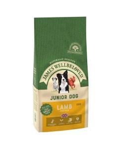 James Wellbeloved Junior Dog Lamb & Rice - 2kg