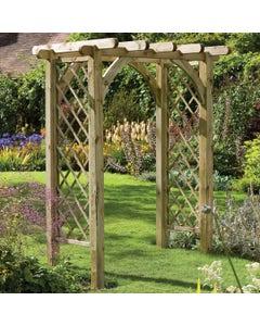 Forest Garden Ultima Pergola Arch - Unassembled