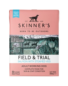 Skinner's Field & Trial Salmon With Steamed Veg Wet Food – 390g