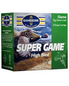 Gamebore Super Game Hi Bird 12 Gram Cartridges - 32 Fibre 6 Shot