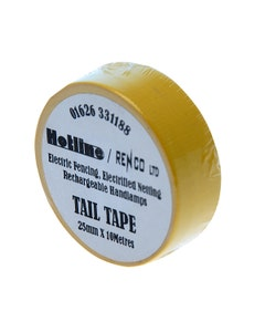 Hotline Coloured Tail Tape - Yellow