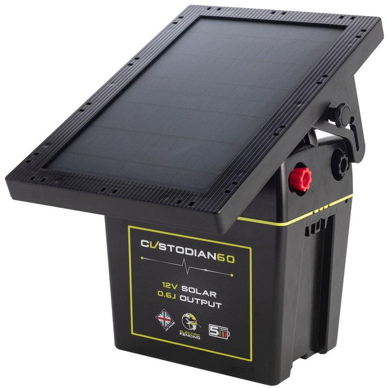 An image of Mole Electric Fencing Custodian 60 Solar Energiser