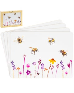 Otterdene Busy Bee Place Mats - Pack of 4