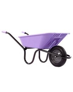 Haemmerlin Vibrante Go Lilac Wheelbarrow - 90L