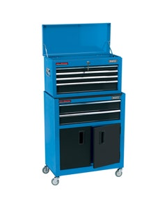 """Draper 24"""" Combined Roller Cabinet and Tool Chest - 6 Drawer"""