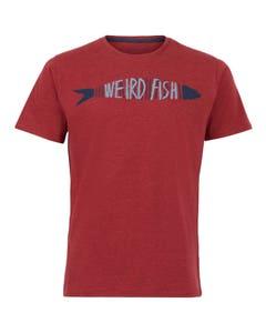 Weird Fish Mens Barcod T-Shirt