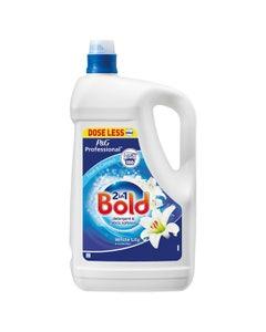 Bold 2 In 1 Laundry Liquid White Lily & Crystal Rain 5L - 100 Wash