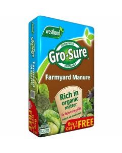 Westland Gro-Sure Farmyard Manure - 50L
