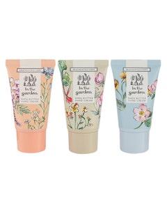 Heathcote & Ivory In the Garden Hand Cream Trio