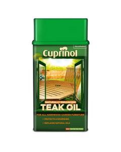 Cuprinol Naturally Enhancing Teak Oil - 1L