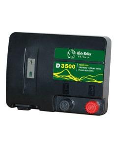 MVF D3500 12V/230V Dual Power Electric Fencing Energiser
