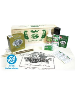 Napier Wooden Boxed Cleaning Kit - 12g