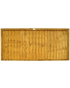 Forest Garden Closeboard Fence Panel 1.83m x 0.91m (6' x 3') - Pack of 4