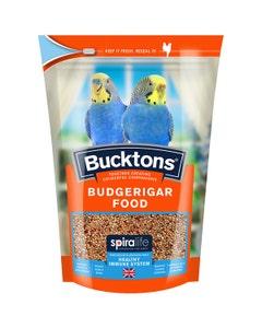 Bucktons Budgerigar Food With Spiralife - 500g